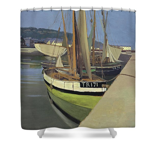 Port, 1901 Shower Curtain