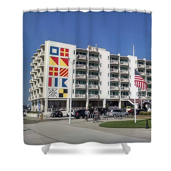 Port Royal Hotel Wildwood Nj 2019 Shower Curtain