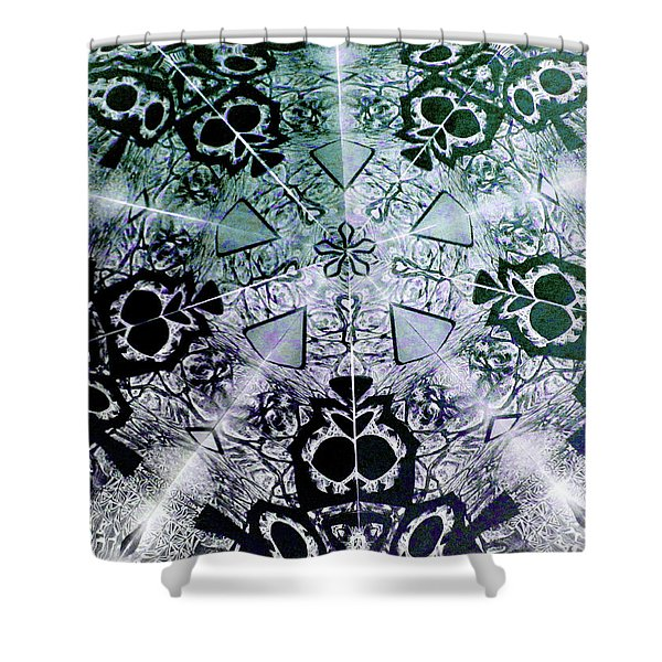 Portal 2 Shower Curtain