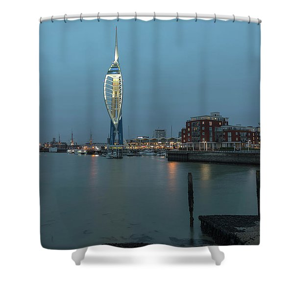 Portsmouth - England Shower Curtain