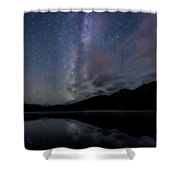 Power Of The Pyramid Shower Curtain