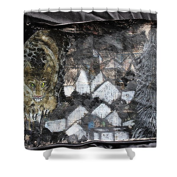 Power Strolled Onto The World Shower Curtain
