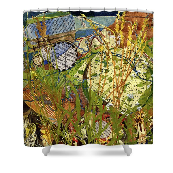 Powwow Shower Curtain