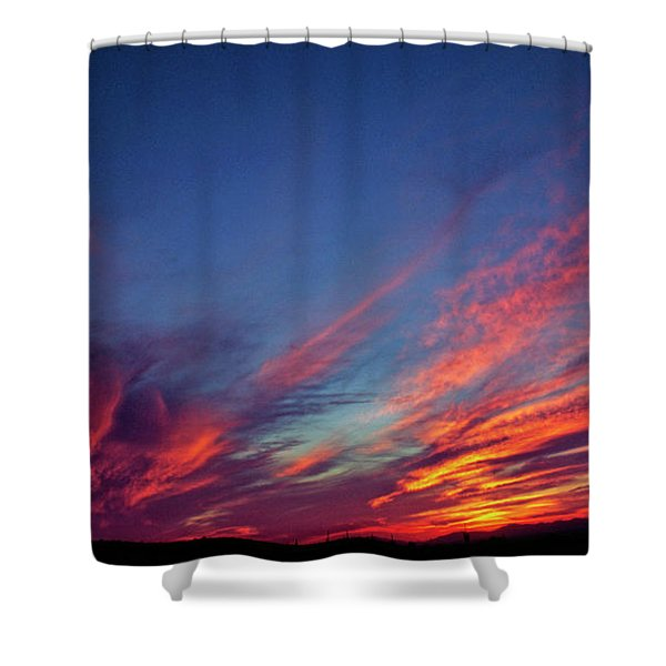 Superstition Vista Shower Curtain