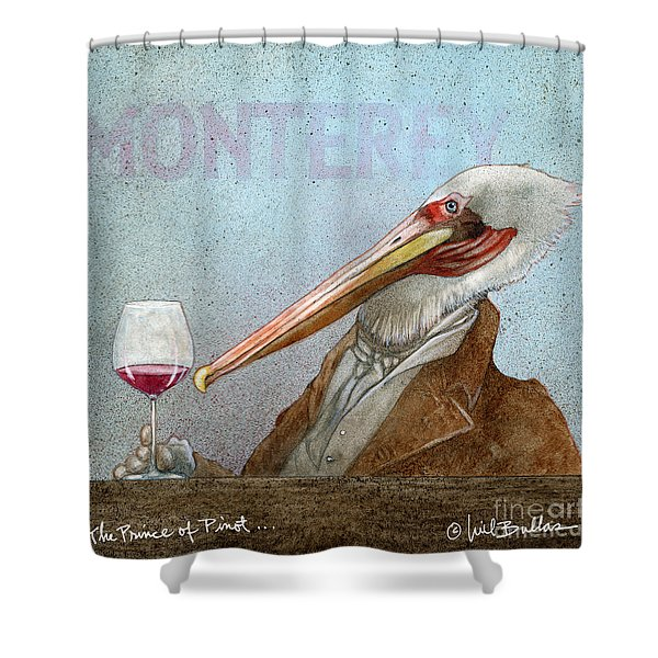 Prince Of Pinot, The Shower Curtain