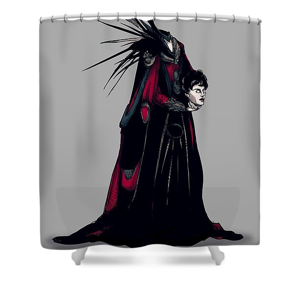 Princess Mombie Shower Curtain