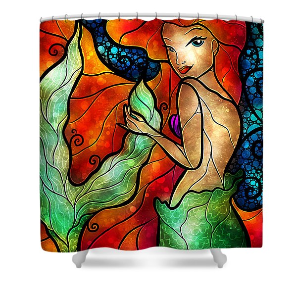 Princess Of The Seas Shower Curtain