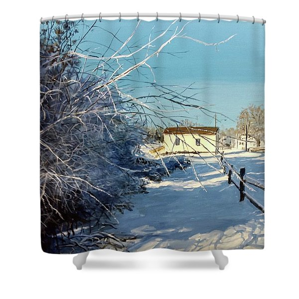 Promise Of Tomorrow Shower Curtain