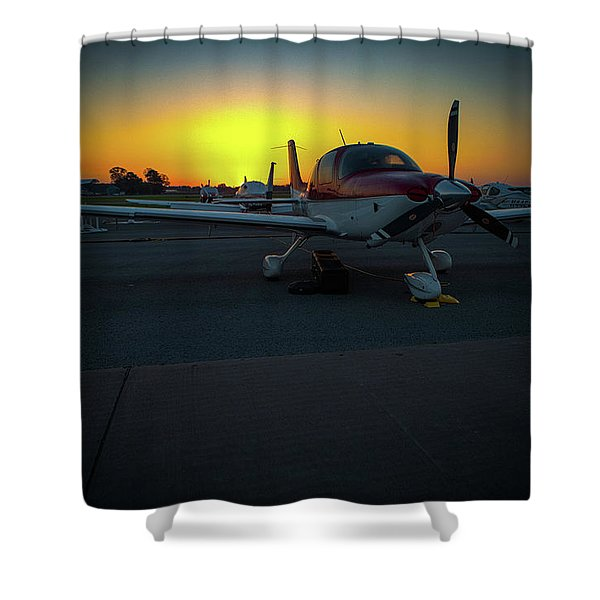 Props At Dawn Shower Curtain