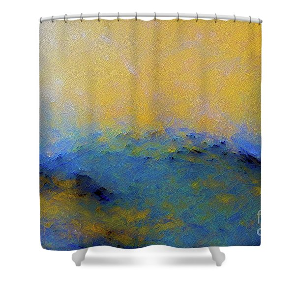 Psalm 100 4. With Thanksgiving Shower Curtain