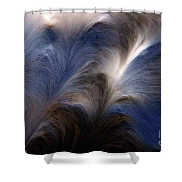 Psalms 27 14. Wait On The Lord Shower Curtain
