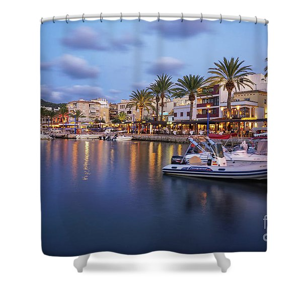 Puerto De Andratx Shower Curtain