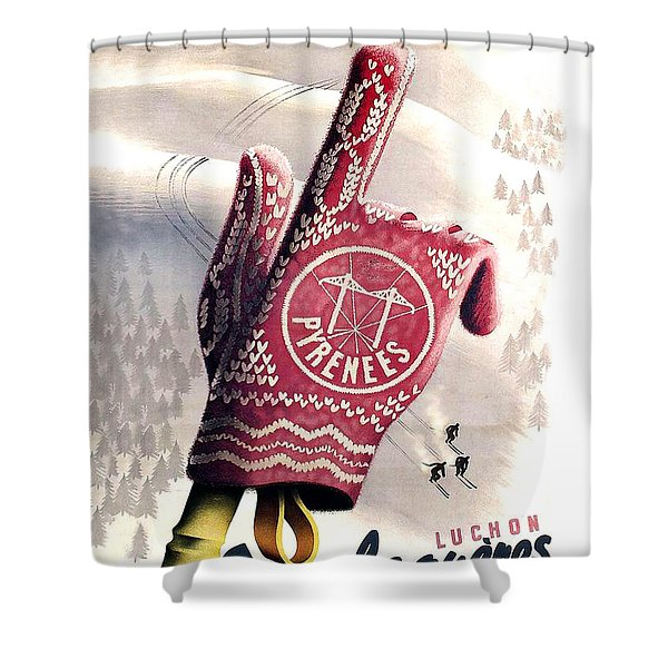 Pyrenees Shower Curtain