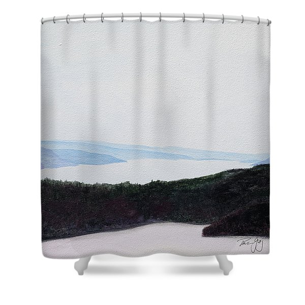 Quabbin Looking North Shower Curtain
