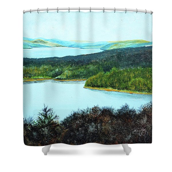 Quabbin Northwest Shower Curtain