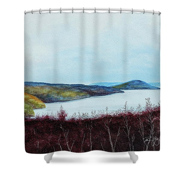 Quabbin Reservoir Shower Curtain