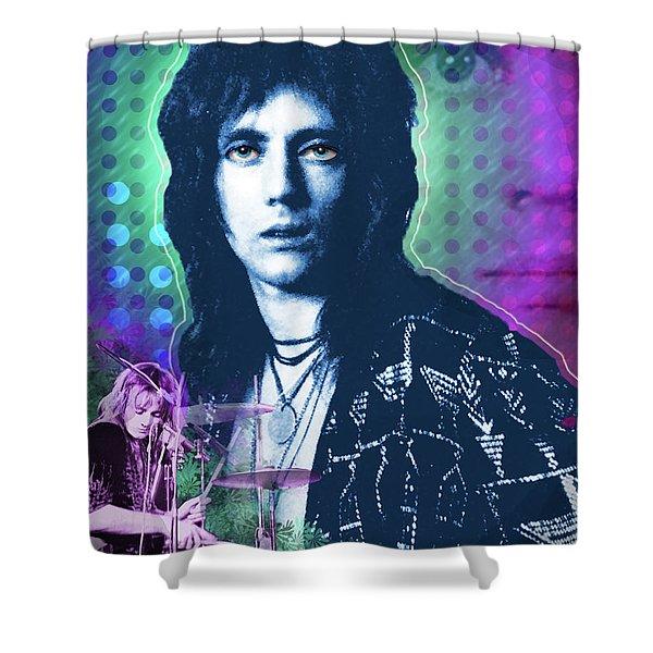 Queen Drummer Roger Taylor Shower Curtain