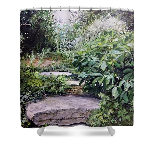 Quiet Path Shower Curtain