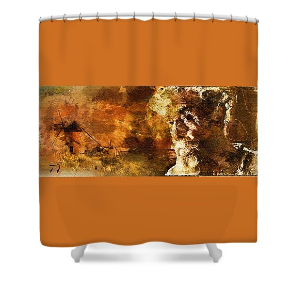 Quijote Shower Curtain