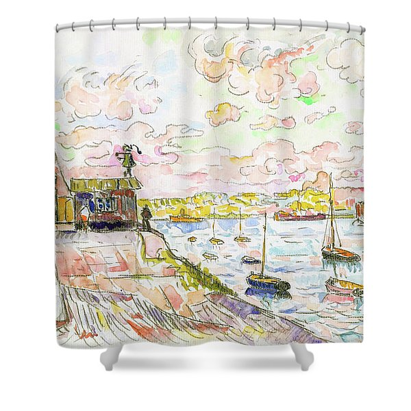 Quilleboeuf - Digital Remastered Edition Shower Curtain