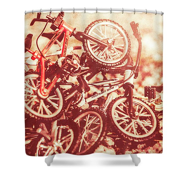 Racing Competition Shower Curtain