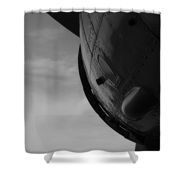 Radial Cowl Shower Curtain