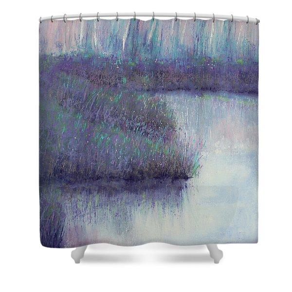 Radiant Morning Shower Curtain