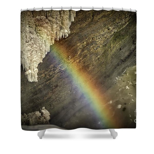 Rainbow At Letchworth Shower Curtain