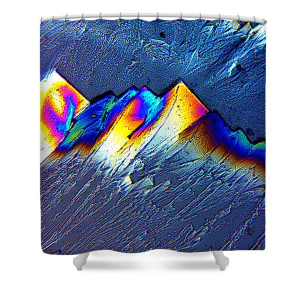 Rainbow Mountains Shower Curtain