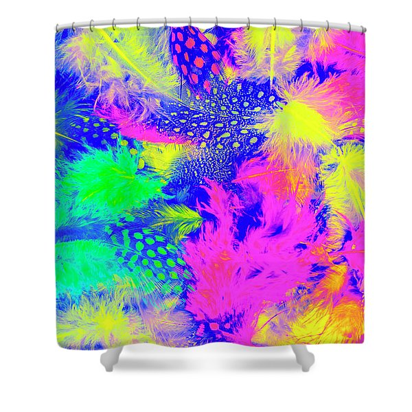 Rainbow Radiance Shower Curtain