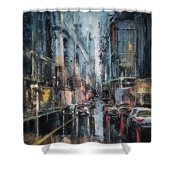 Rainy Expression Shower Curtain