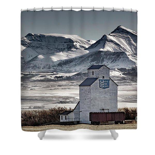 Ranchland Elevator Shower Curtain