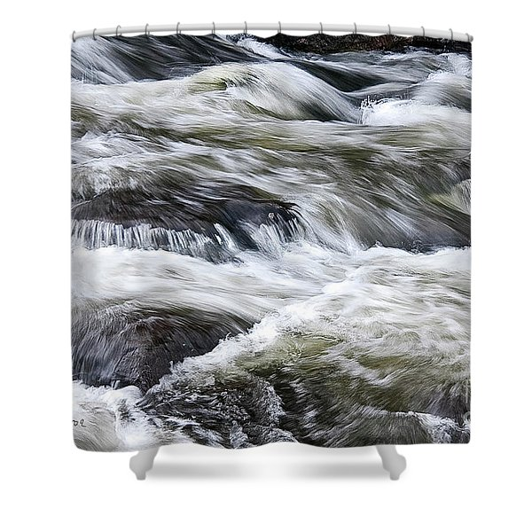 Rapids At Satans Kingdom Shower Curtain