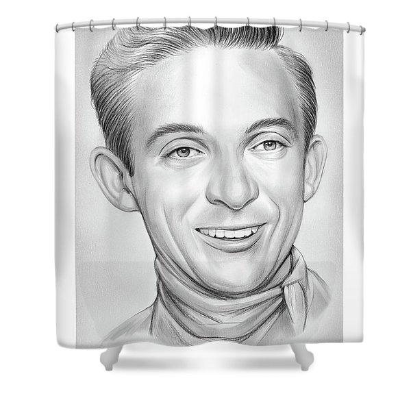 Ray Price Shower Curtain