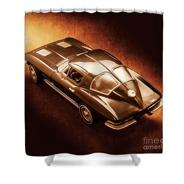Ray Tail Shower Curtain