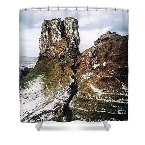 Reach For Me Shower Curtain