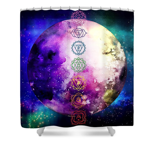 Reach Out To The Stars Shower Curtain