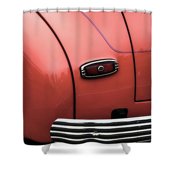 Rear Taillight Shower Curtain