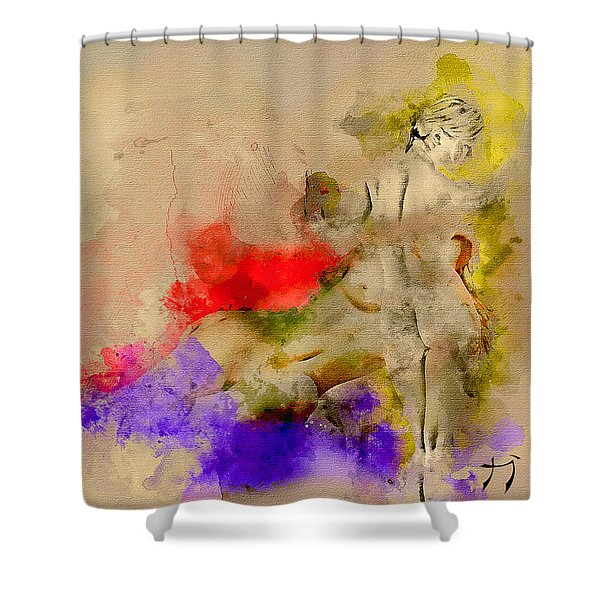Recess Of A Dream Shower Curtain