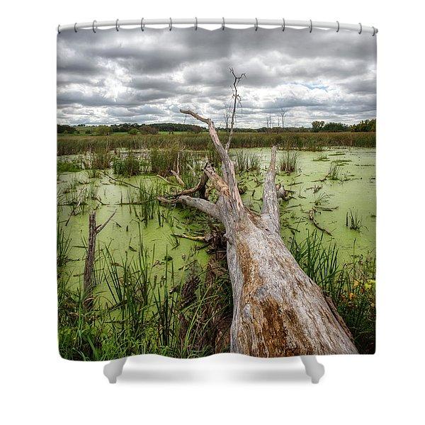Reclamation Shower Curtain