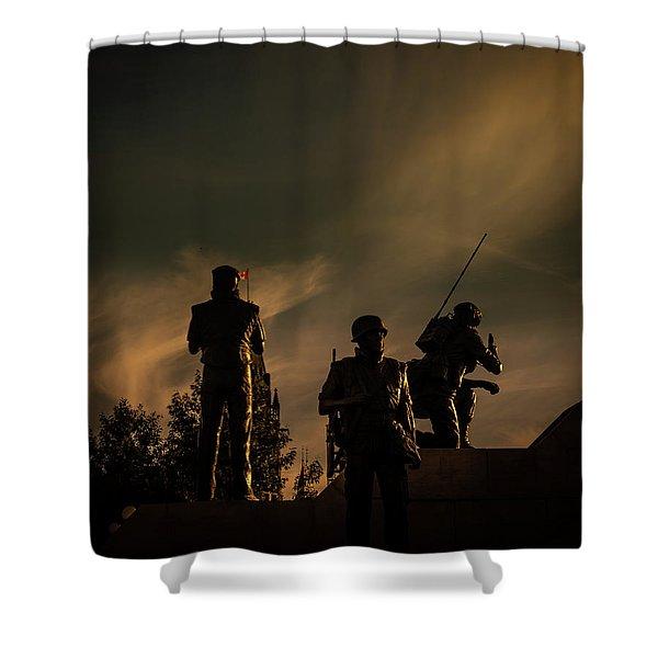 Reconciliation Shower Curtain