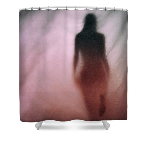 Red #0640 Shower Curtain