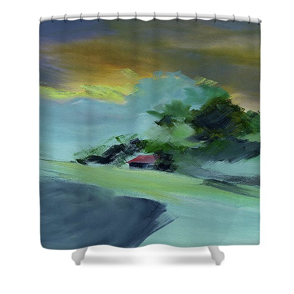 Red House New Shower Curtain