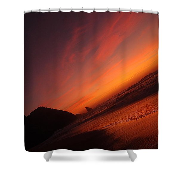 Red Light District Shower Curtain