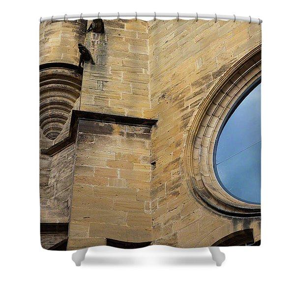 Reflection, Sarlat, France Shower Curtain