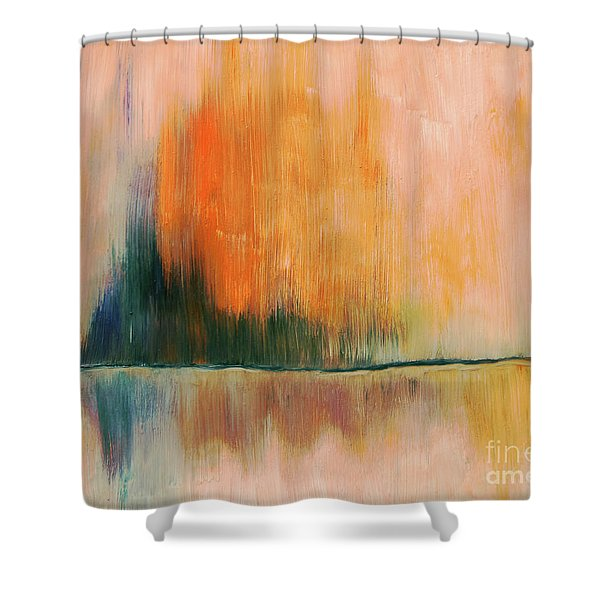 Reflections Art Shower Curtain