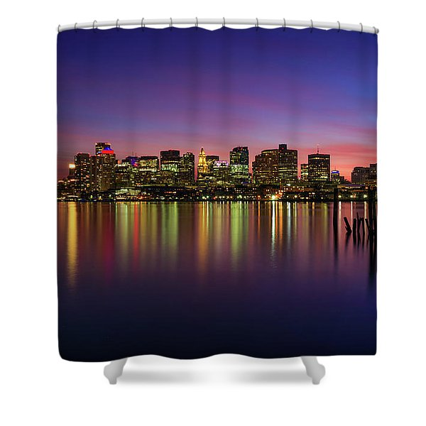 Reflections Of Boston II Shower Curtain