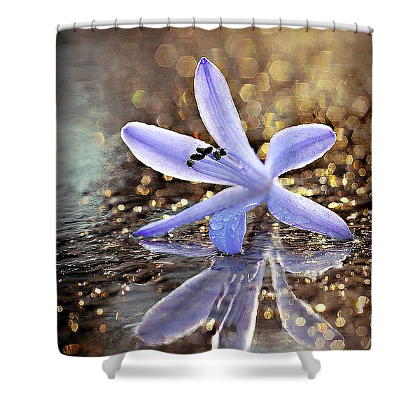Shower Curtain featuring the photograph Reflections Of Joy by Michelle Wermuth