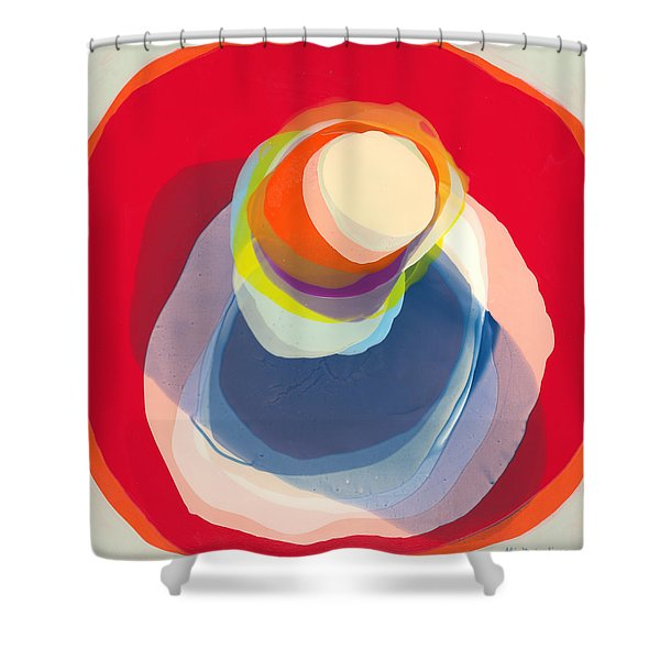 Reflective Shower Curtain