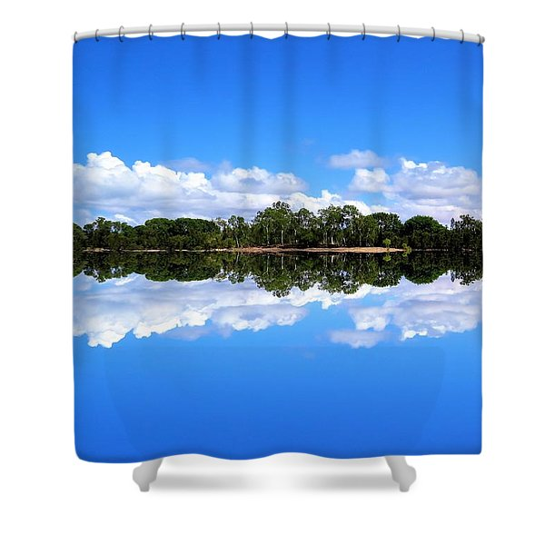 Reflective Lake Patricia Shower Curtain